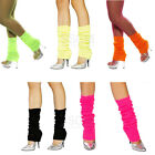 Leg Warmers Stocking Legging High Knitted Women Neon 80's Party Knit Ankle Socks