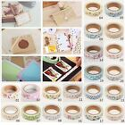 24 Color Floral Fabric Washi Tape Masking Tape Decorative Tape DIY Tape Stickers