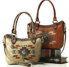 New American West® Zuni Passage, All Leather Shoulder Bag w/ Strap- 2 Colors