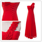 UK Clearance New Long Bridesmaid Dress Formal Evening Dress Party Prom Ball Gown