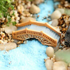 Miniature Bridge Garden Ornament Fairy Garden Dollhouse Plants Aquarium Decor