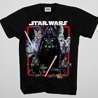 STAR WARS DARTH VADER SPACE CREW VADER CHEWIE BLACK  T/S TEE SHIRT Short Sleeves