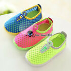 2017 Summer Baby Child Kids Girls Boys Breathable Net Rubber Candy Shoes Sandals