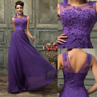 MOTHER'S DAYS GIFT Vintage Stl Wedding Gown Formal Evening Party Long Prom Dress