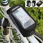 Hot Bicycle Bike Phone Holder Frame Front Tube Bag Pouch Case for Cell Mobile LJ