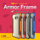 For Samsung Galaxy S6 edge Nillkin Hybrid Shockproof Bumper Frame Cover Case