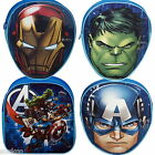 Official Marvel Avengers Backpack Head Shaped Hulk Ironman Age of Ultron School