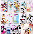 2015 Ultra Thin Cartoon Princess Transparent TPU Soft Case For Samsung Galaxy S6