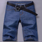 New Mens Shorts Stylish Casual Jean Short Pants Trousers 28~32 33 34 36 38 40