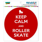 MAG-NEATO'S™ Car Refrigerator Vinyl Magnet Keep Calm and P-Y