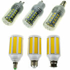 LED COB Corn Bulb E27 E26 E12 GU10 G9 E14 B22 SMD Lights Lamps 3/4/5/7/9/12/15W