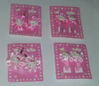 6 OR 10  x HELLO KITTY PINK HAIR CLIPS, BOBBLES, BOW, SLIDE, GRIP PARTY BAG