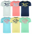BLEND New Men's Retro Surf Style Print T-shirts Jersey Cotton Coloured Tee