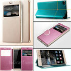For Huawei Ascend P8 KLD Sun Series Stand View PU Leather Flip Side Case Cover