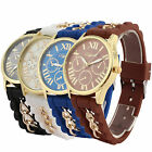 New women style silicon band alloy casual ladies quartz watch Jelly watch
