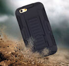 Hybrid Armor Belt Clip Holster Heavy duty Stand Case Cover For Apple iphone6 4.7