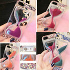 NEW Bling Diamond QuickSand Hour Glass Hard Clear Case Cover For Iphone 4 5 6