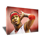 ALLEN IVERSON Philadelphia 76ers Poster Photo Painting on CANVAS Wall Art Print on eBay