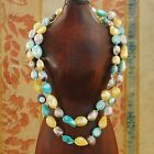 """Baroque 10mm Freshwater Pearl Necklace 25""""- 60""""  endless PALETTE TY02 LOLITA"""