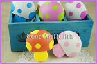 Cute Mushroom Design Contact Lens Case with Soaking Case 2015 NEW