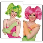 Ponies Set Short Wig Costume Accessory Adult Halloween