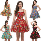Vintage Style Homecoming 50's 60s Pin up Swing Party Rockabilly Skirt Prom Dress