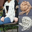 Hot Sale Elegant Women Lady Chiffon Musical Note Scarves Long Wraps Shawl Scarf