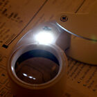 30X / 40X Glass Magnifying Magnifier Jeweler Eye Jewelry Loupe Loop F5