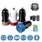 4.8A Dual 2 Port USB Car Fast Charger Adapter For iPhone 6 plus Samsung S6 Sony