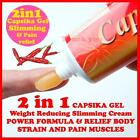 100G OF CAPSIKA CapsaicinThai Chili HOT GEL For Muscular Pain Ache stiff neck