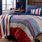 Catherine Lansfield Stars & Stripes Fitted Sheet In Single or Double