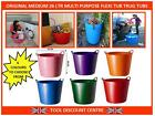 MEDIUM 26LTR MULTI PURPOSE FLEXI FLEXIBLE TUB TRUG STORAGE GARDEN WASHING BUCKET