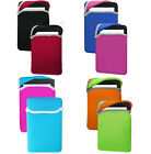 """2 in1 Reversible Neoprene Carry Sleeve Pouch Case Cover for 7"""" Tablets e-Readers"""