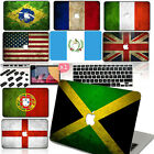 """Vintage Flag print Hard Shell Case Cover for Macbook Pro 13"""" 15"""" Retina Air11 12"""