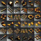Gold Upgrade Spare Parts For HSP 1:10 RC Racing Model Car Buggy Truck Truggy