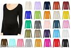 Womens Maternity Long Sleeve Scoop Neck T Shirt Top UK 8-26