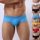 Clear Out~Mens Sexy Breathable Underwear Y-Front Briefs Pouch Underpant Lingerie