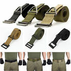Survival Emergency Men Tactical Belt Rescue Rigger Militaria Military Adjustable