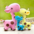 New Fashion Giraffe Soft Plush Toy Stuffed Cute Dear Colorfu Baby Gift Doll 18CM