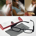 FREE Case & Cloth LED Light Spectacle Magnifier +1.0 ~ 4.0 Power Reading Glasses