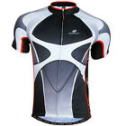 Sport Men's Cycling Jersey Bicycle Wear Clothing Short Sleeves Shirt Top  M-2XL