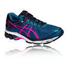 ASICS GT-1000 4 Womens Pink Blue Support Road Running Sports Shoes Trainers