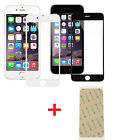 New Front Screen Outer Glass Lens+3M Adhesive Repair Part For iPhone 6 Plus 5.5""