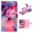 PU Leather Wallet v28 Flip Stand Card Case Cover For Wiko Serious Model Phone