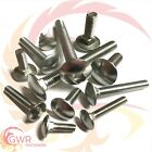 M6 Carriage Bolts - A2 Stainless Steel - Coach Cup Square Screws Bolt - DIN603