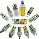 Dimmable E27 E12 E26 E14 GU10 G9 B22 G4 LED COB/SMD Corn Bulb Light Lamp 3w-15w