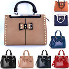 Ladies Quality Bow Decoration Patent Tote Bags Women's Fashion Celebrity Handbag