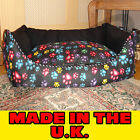 JUMBO LARGE LUXURY DELUXE SOFT PET DOG BED SOFA FILLED CUSHION WARM COMFY