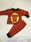 New baby mummys little tiger long pyjamas nightwear sleepwear