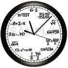 MATH EQUATIONS WALL CLOCK PERSONALIZED GIFT DECOR TEACHER PROFESSOR NUMBERS